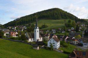 Dorf und Kirche Langenbruck