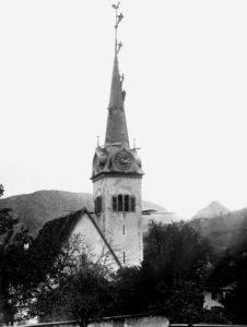 1892 neuer Kirchturm