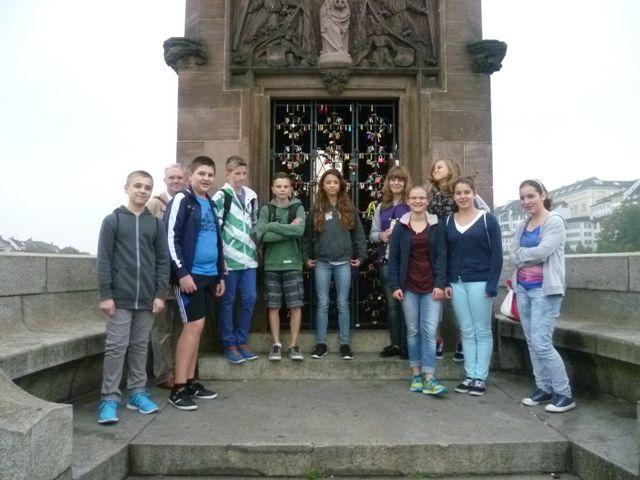 Dann geht es über den Rhein